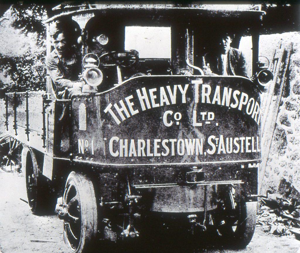 0128 Heavy Transport, Charlestown - Steam Lorry