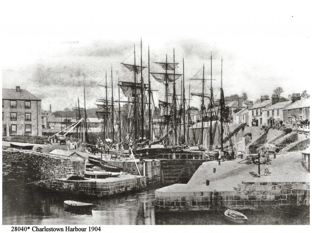 28040 Charlestown Harbour 1904 (Stewart & Woolf PC Series 1200)