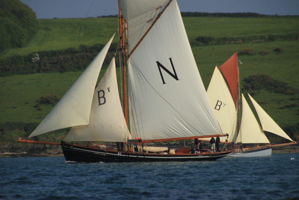 Photo courtesy of D Purser @ Classic Sailing